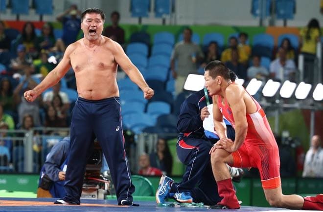 Rio Olympics 2016: Angry Coach Strips After MOngolian