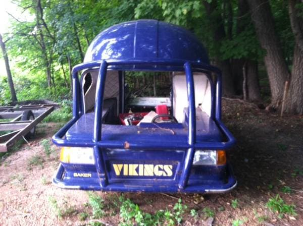 Minnesota Vikings' old injury cart from Metrodome for sale ...