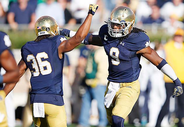 College Football Playoff: Debating Notre Dame vs. Oklahoma ...