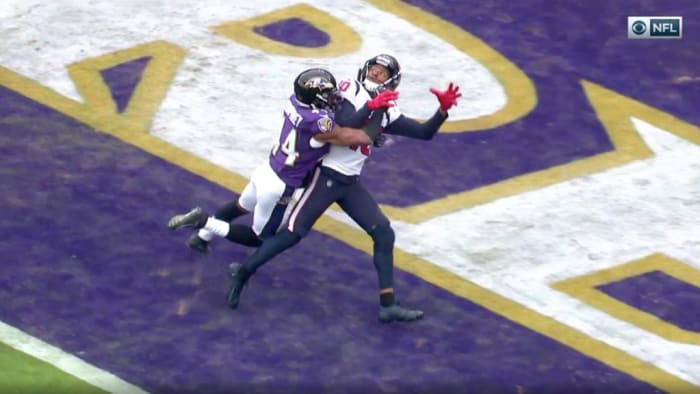 Officials Fail to Call Pass Interference Against Ravens, Ruling Upheld After Texans Challenge