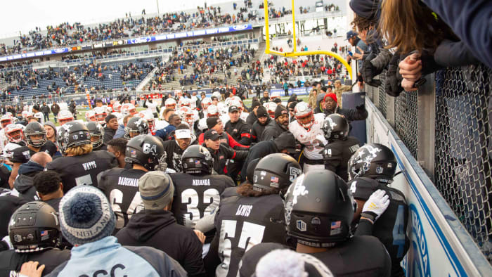 Players, Fans Brawl After UNLV Upsets Nevada