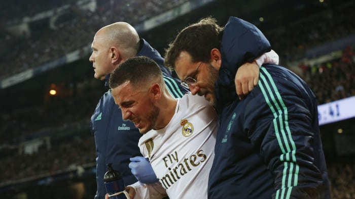 Flipboard: Eden Hazard Set to Miss El Clasico Due to Injury