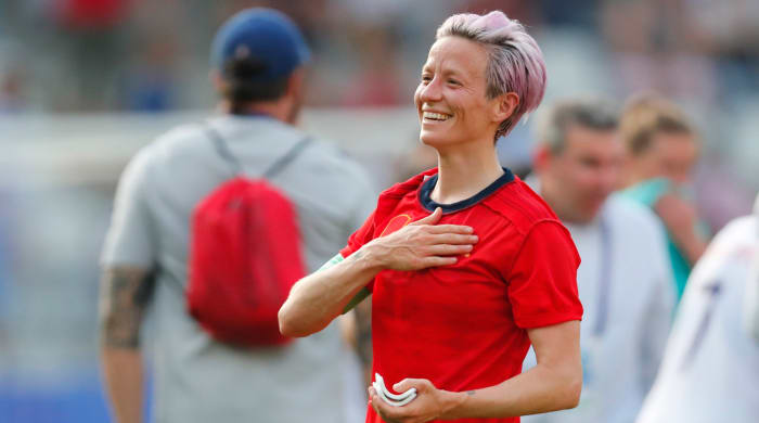The Sportspersonal Touch: Megan Rapinoe's Moving Gesture During World Cup