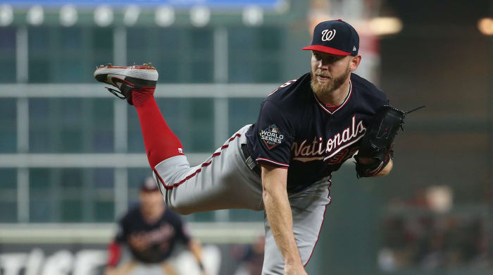 Report: Stephen Strasburg and Nationals Agree to Seven-Year, $245 Million Deal