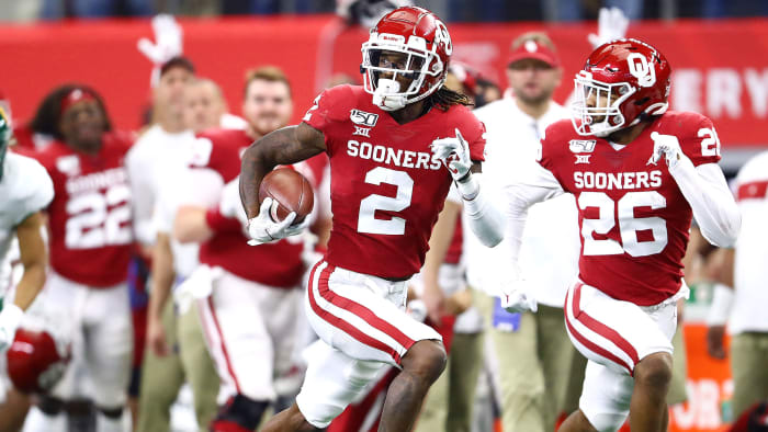 Six From Saturday: Oklahoma WR CeeDee Lamb's Draft Stock Is Soaring
