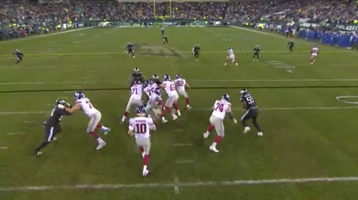 Booger McFarland and Joe Tessitore Were Dead Wrong About the Giants' Flea-Flicker