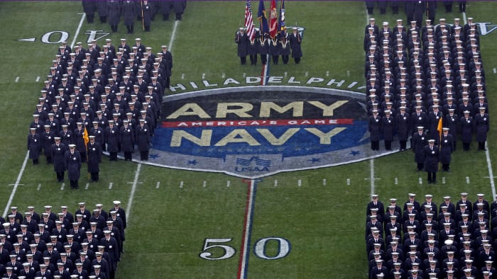Possible 'White Power' Hand Signs at Army-Navy Game Probed