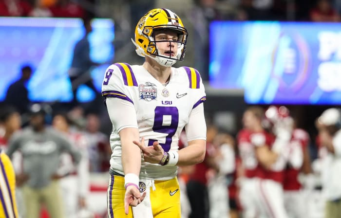 LSU Flexes Its Muscle vs. Oklahoma in a Playoff Semifinal It Was Always Going to Dominate