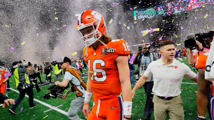 Rare Taste of Defeat Will Fuel Trevor Lawrence, Clemson Well Into 2020