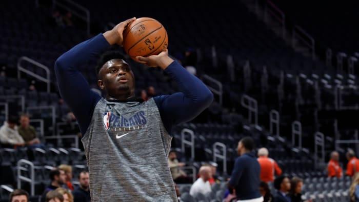 Zion Williamson To Make NBA Debut Jan. 22 vs. Spurs