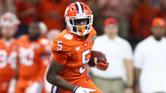 Clemson Receiver Tee Higgins Declares for NFL Draft