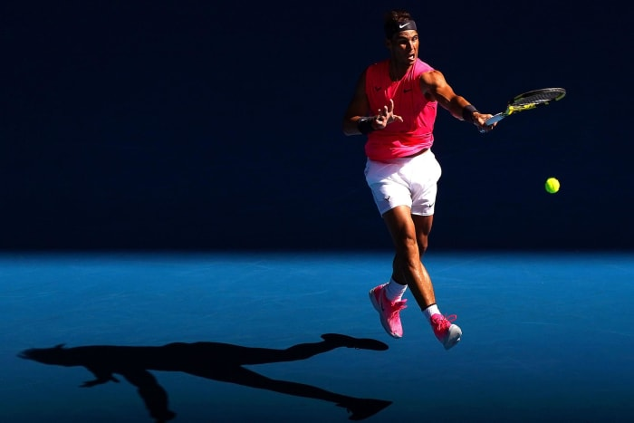 Nadal Wins in Straight Sets, Sharapova Exits on Australian Open Day 2