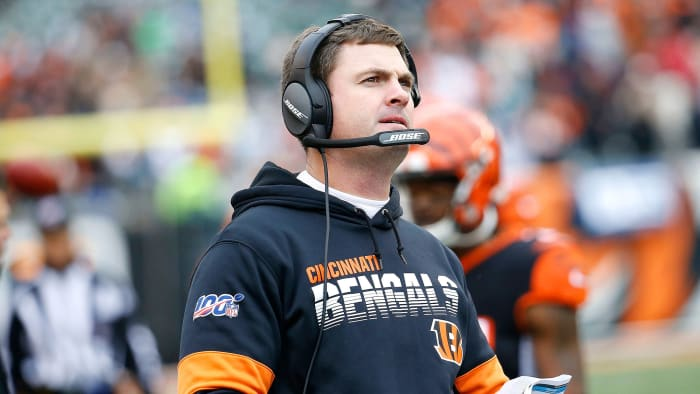 How Zac Taylor and the Bengals Will Determine the NFL Draft's No. 1 Pick