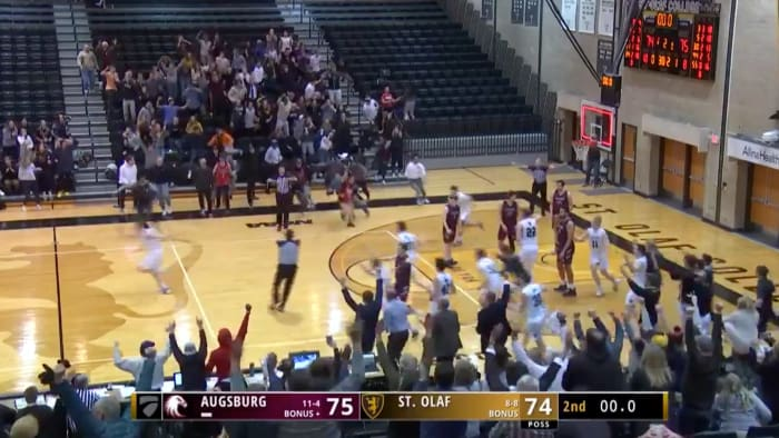 Bad Call Robs D-III Team of Flawless Buzzer-Beating Tip-In