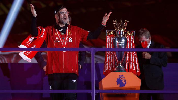 Jurgen Klopp and Liverpool won the Premier League title