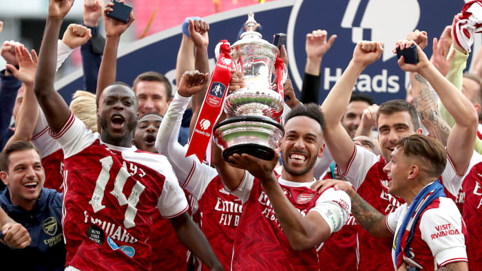Arsenal won the FA Cup