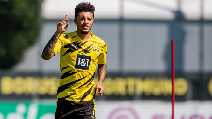 Jadon Sancho could be on his way to Manchester United