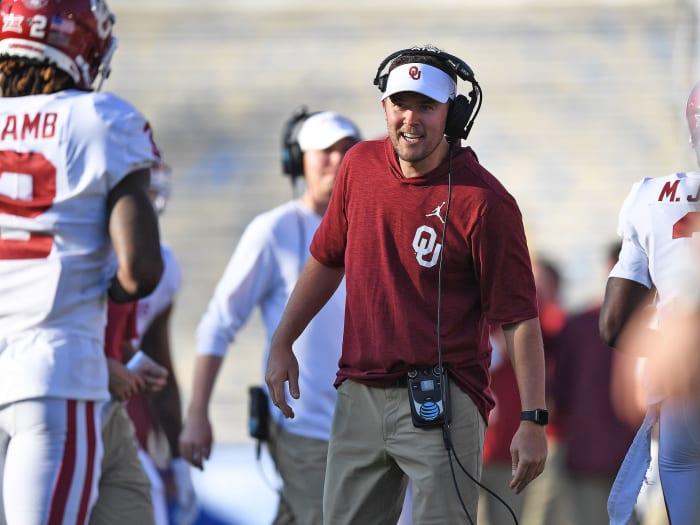 Oklahoma coach Lincoln Riley