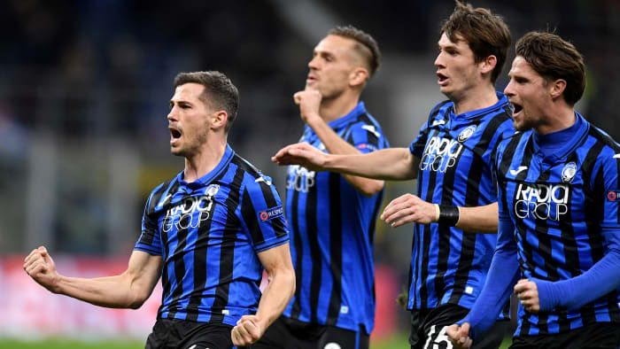 Atalanta plays PSG in the Champions League quarterfinals