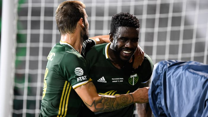 The Portland Timbers win the MLS Is Back tournament
