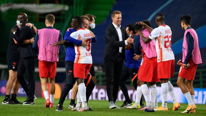 RB Leipzig is through to the Champions League semifinals