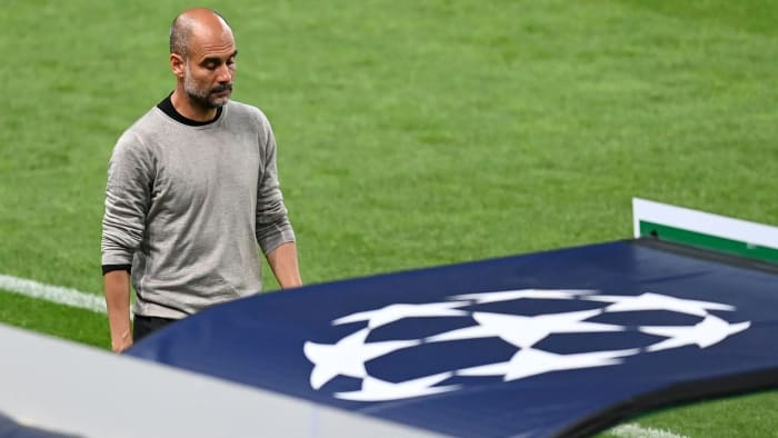 Pep Guardiola and Manchester City crash out in the Champions League quarterfinals