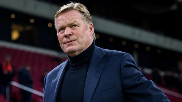 Ronald Koeman is the new Barcelona manager