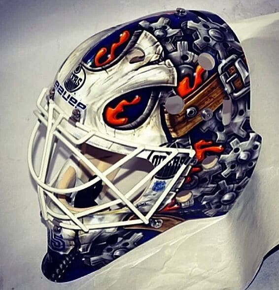 Viktor Fasth gets a new mask - what do you think? - The ...