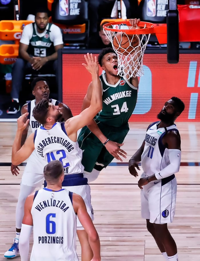 Doctors are bullish on the NBA bubble, which has given stars likeGiannis Antetokounmpo a platform to shine.
