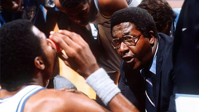 Former Georgetown coach John Thompson