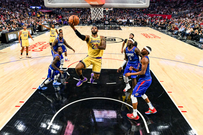 Lakers-Clippers?  Maybe happen.  But brokers will not be involved in the action.