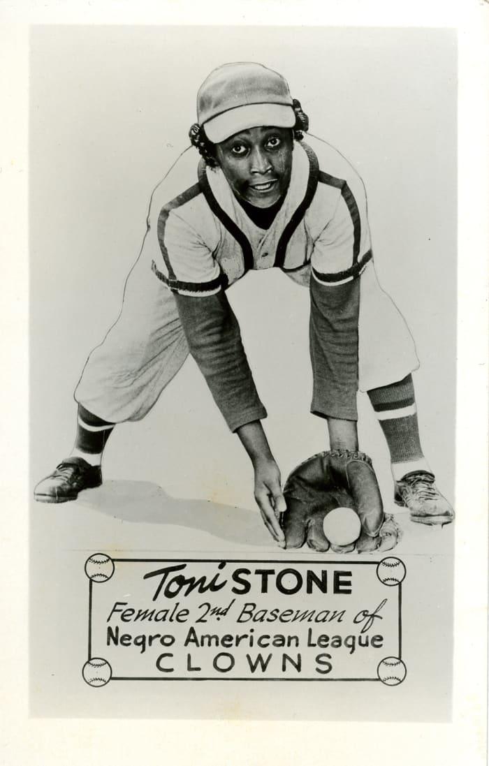 Stone, Toni--Pollack Collection-photo postcard