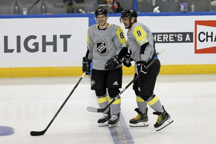 Sidney Crosby and Alex Ovechkin.
