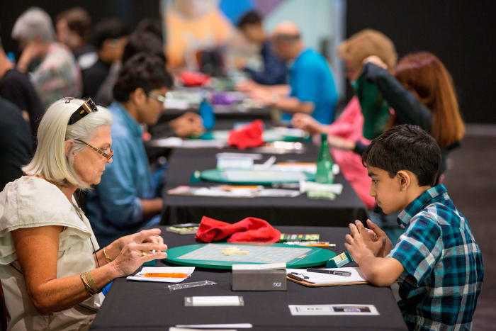 Part of the appeal of Scrabble: a diverse community in which wordsmiths from the furthest ends of any spectrum can face off.