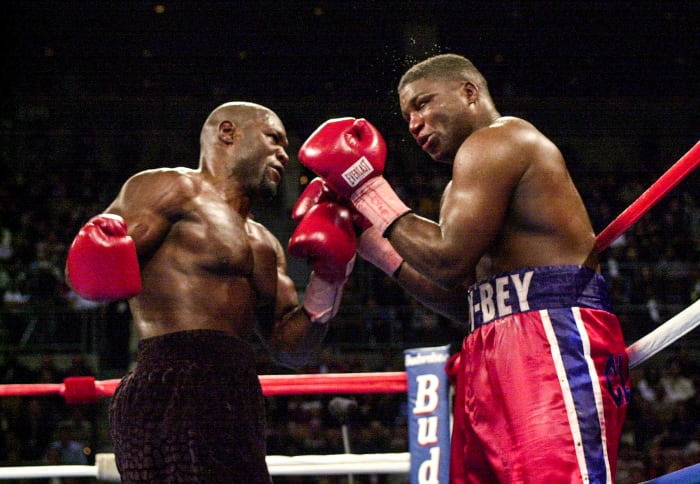 Etienne went 10 rounds with the heavyweight Lawrence Clay Bey in November 2000 and won by unanimous decision.