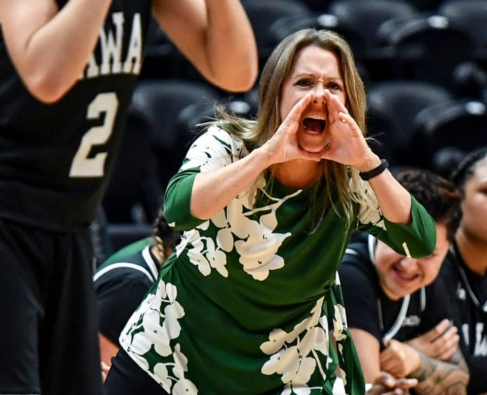 In her eighth season at Hawaii last year, Beeman's Rainbow Warriors went 16–14; this year, they'd just love to play.