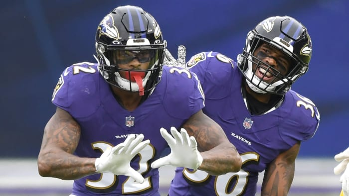 Baltimore Ravens Chuck Clark