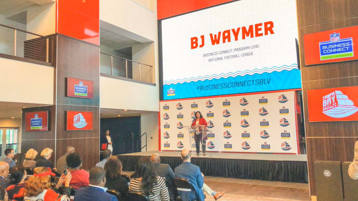 BJ Waymer  is the NFL Business Connect Program lead
