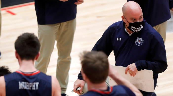Belmont Basketball Coach Casey Alexander