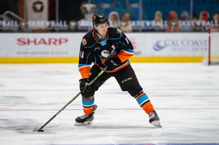 Jacob Perreault. Photo courtesy the San Diego Gulls.