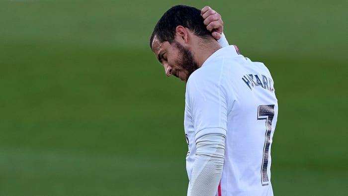 Eden Hazard injured again with Real Madrid