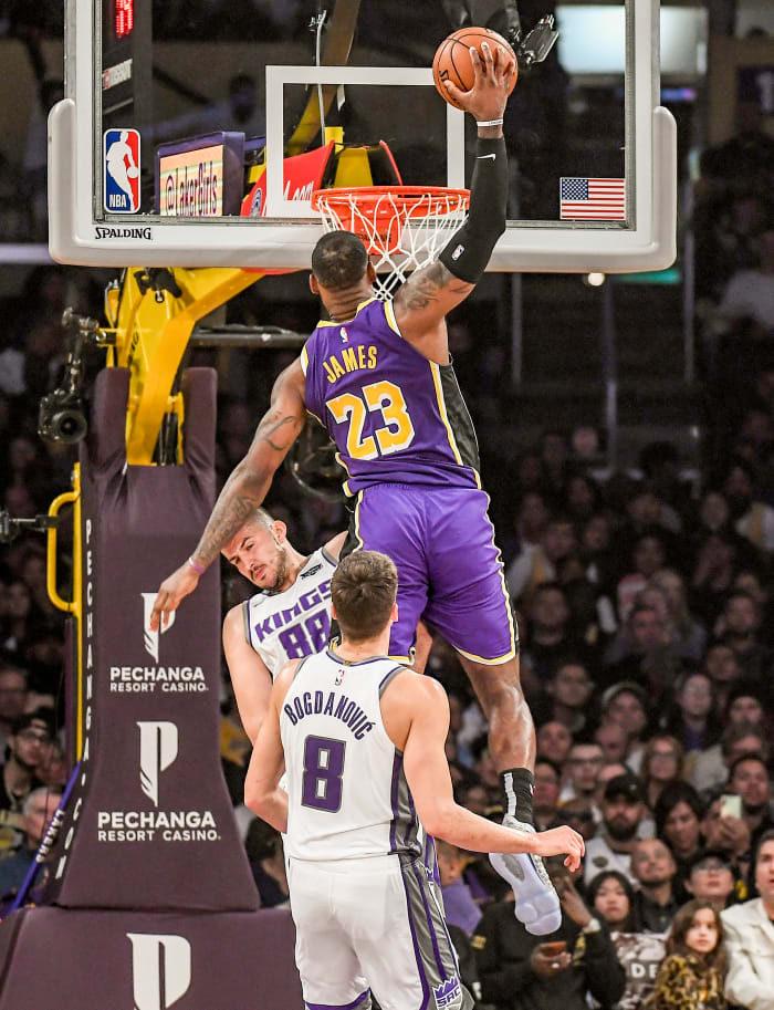 A moment of this LeBron James dunk against the Kings from November 2019 sold for over $200,000.