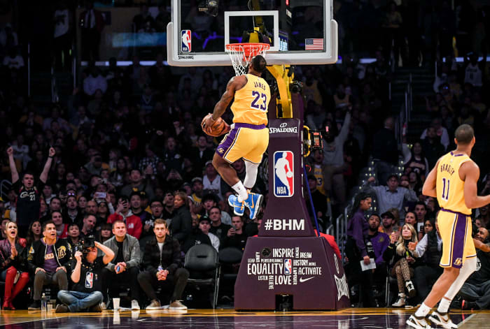 A moment of this LeBron James dunk, a tribute to Kobe Bryant, sold for $179,000.