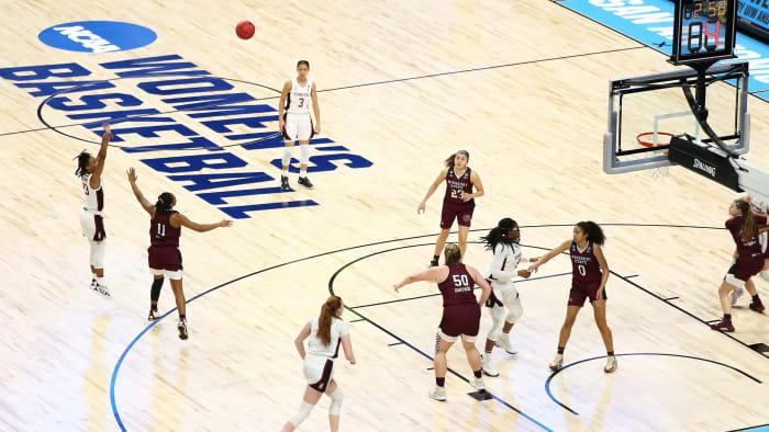 The NCAA women's tournament in San Antonio