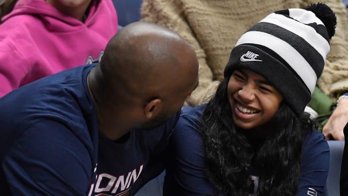Gigi Bryant's Presence is Felt Within the UConn Family