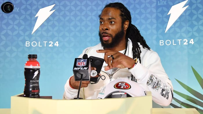 Richard Sherman Is Back on the Super Bowl Stage and Ready