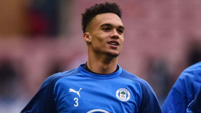 Antonee Robinson is on his way from Wigan Athletic to Fulham