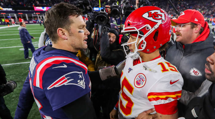 Likely Outcomes of Tom Brady, Patrick Mahomes Contracts ...