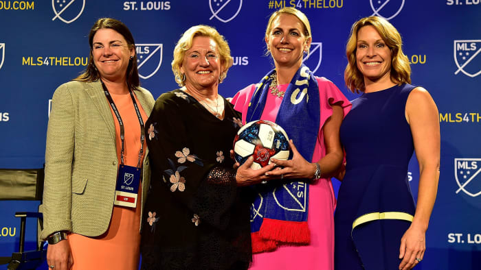St. Louis MLS expansion team's ownership group