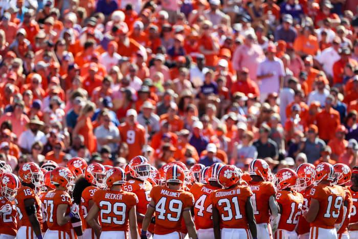 College football future 2020 season Clemson